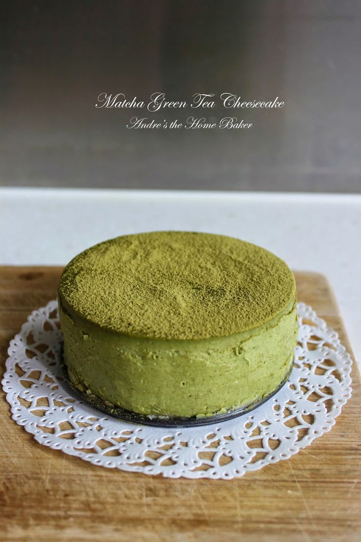Matcha Green Tea Cheesecake                                                                                                                                                                                 More