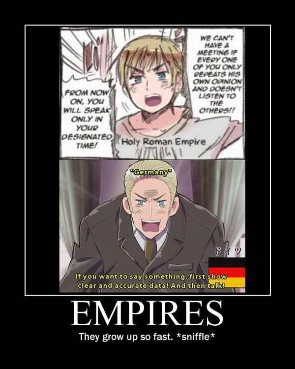 Hetalia. Germany, Holy Roman Empire. THIS IS PROOF, PEOPLE! HOLY ROME IS GERMANY!