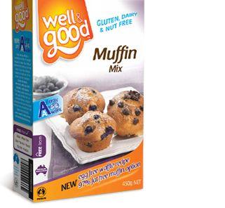 Well and Good Muffin Mix. #wellandgood