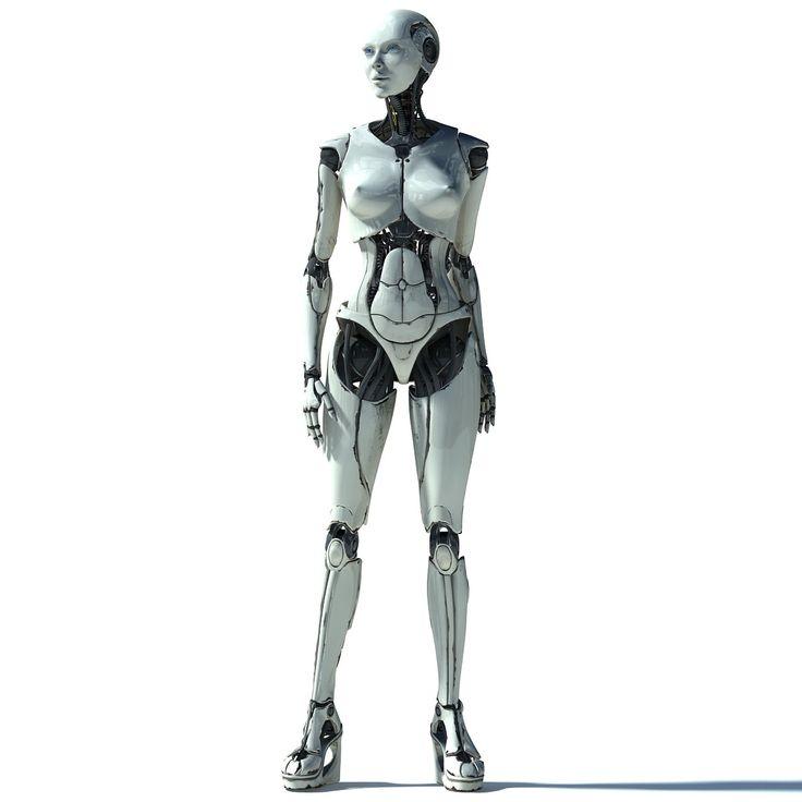 female elettra 3d max Androids Pinterest D