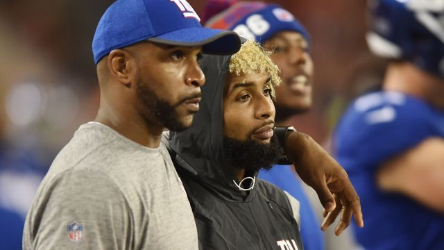 Odell Beckham declared inactive for Sunday night's game