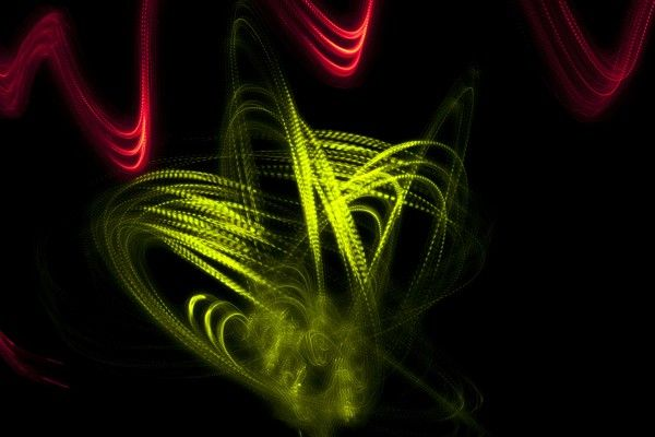 Painting With Light Photography by Suzanne John, via Behance