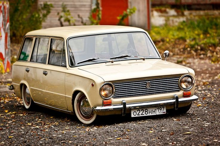 1966 FIAT or later Russian Lada Kombi wagon classic