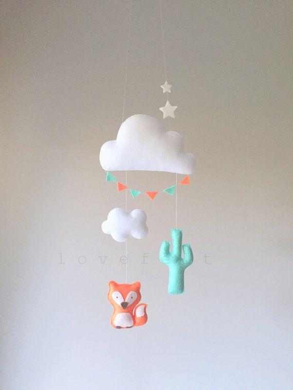 Baby mobile - Cloud Mobile - Fox Mobile - Cactus mobile