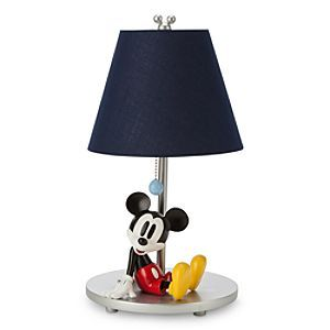 Disney Mickey Mouse Lamp   Disney StoreMickey Mouse Lamp - Brighten-up any room with our biggest star on this contemporary lamp with fully-sculptured figural base, part of Mickey's matched nursery collection.