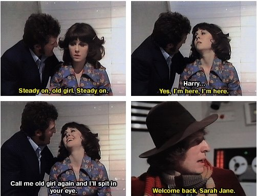 This is why Sarah Jane is my favorite companion