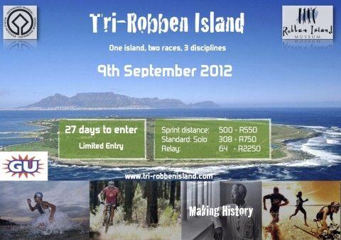 The Tri-Robben Island Triathlon   October   Robben Island