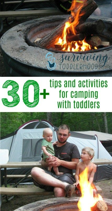 30+ Tips for Camping with Toddlers and Babies. Going on your first family camping trip soon? Check out these tips for your adventure into the great outdoors! Camping Hacks | Family Life | Mom Life | Camping Tips | Motherhood | Camping with Toddlers |