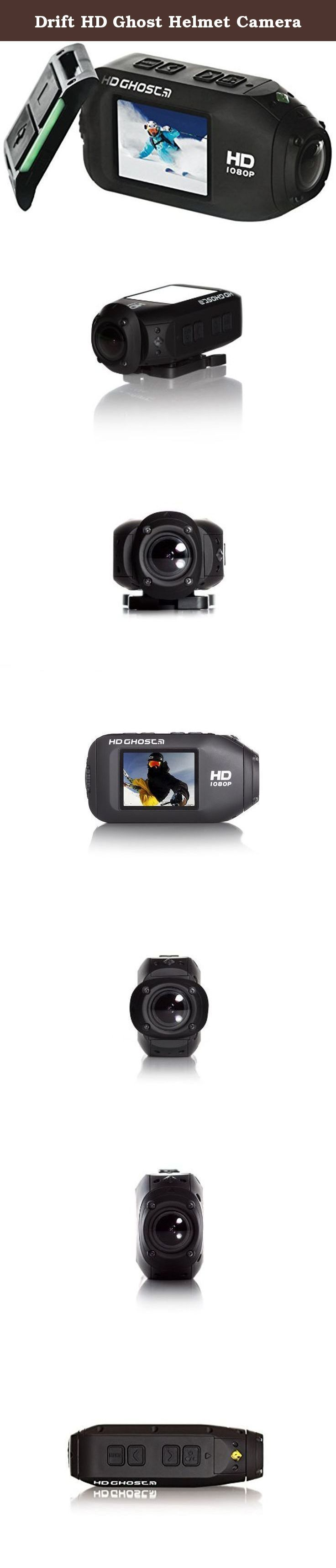 Drift HD Ghost Helmet Camera. Drift Innovation, the award-winning action sports technology company specializing in the capture and sharing of digital imagery, launched the most feature-rich and intuitive action camera yet - the Drift HD Ghost. Building upon a unique feature set, which includes an industry-first two-way LED remote control with on/off indicator light, video recording/tagging capabilities in continuous loop mode, and an integrated 2-inch Corning® Gorilla® Glass; LCD screen…