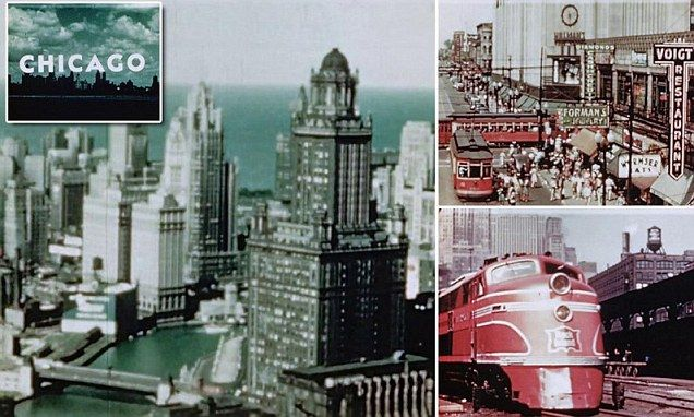 Long-lost footage of Chicago from 1940s surfaces at yard sale