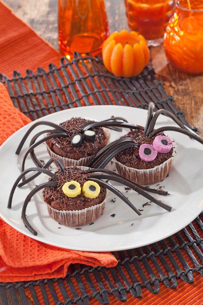 Halloween-hämähäkkimuffinit | K-ruoka #halloween
