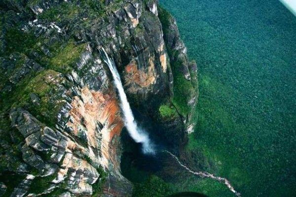 Salto del Ángel Venezuela. Paisajes más impresionantes del planeta