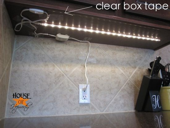 Under Cabinet Lighting Solution Lights From Ikea From House Of Hepworths Diy Home Improvement Pinterest Lighting Solutions Cabinet Lighting And