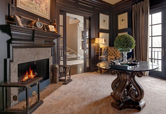 This Cozy Living Room Was Finished By Nth Degree Living In Columbus Ohio Housetrends Home Trends Cozy Living Rooms Interior Design