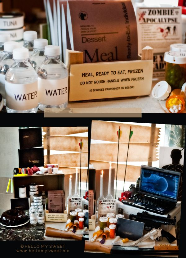 Sweet Parties: The Walking Dead Birthday Dessert Table - Blog - Hello My Sweet