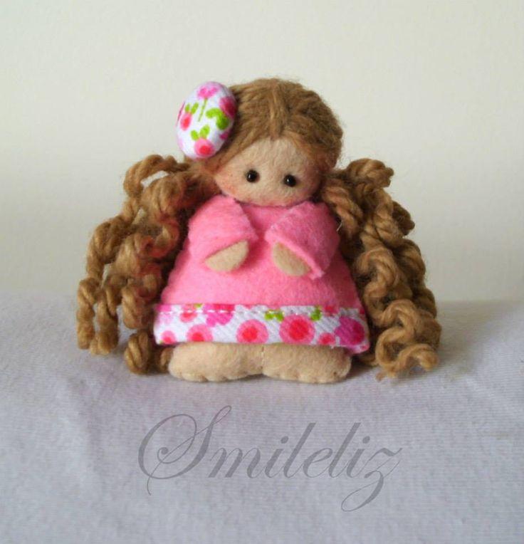Felt Doll pink