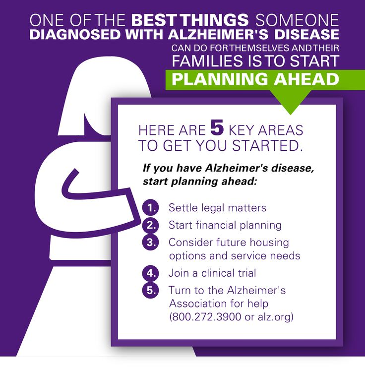 One of the best things someone diagnosed with Alzheimer's can do for themselves and their family is to start planning ahead. Here are 5 tips to get started!