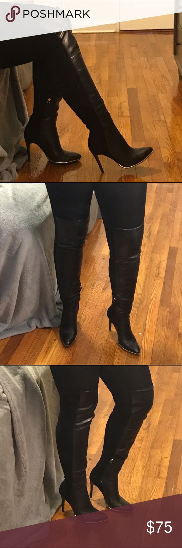 GUESS Thigh High Boots (additional pics) Additional Photos Guess Shoes Over the Knee Boots