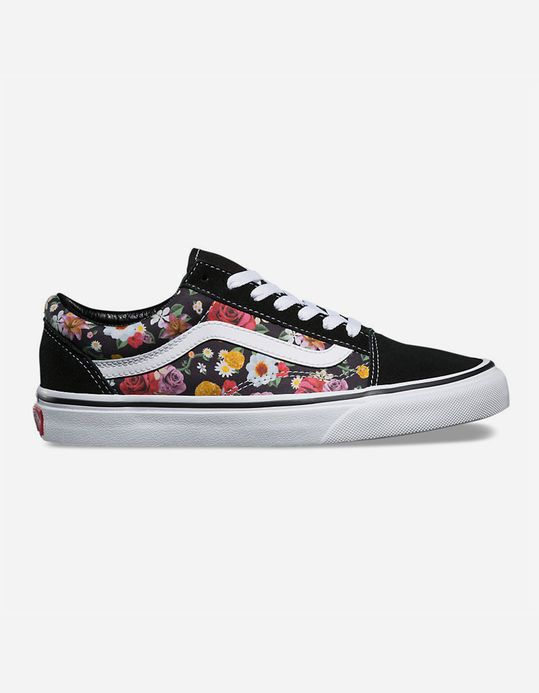 c094be16307 VANS Old Skool Lux Floral Womens Shoes