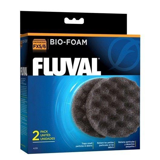 Bio Fomaex FLUVALFX6- #FaunAnimal ofrecen un extraordinario filtración gracias a sus mecánicas y biológicas en una estructura de poros intrincada que ofrece una gran superficie para el crecimiento de bacterias nitrificantes útiles.