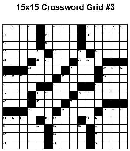 11 best Cross Word Puzzles images on Pinterest Crossword - blank crossword template