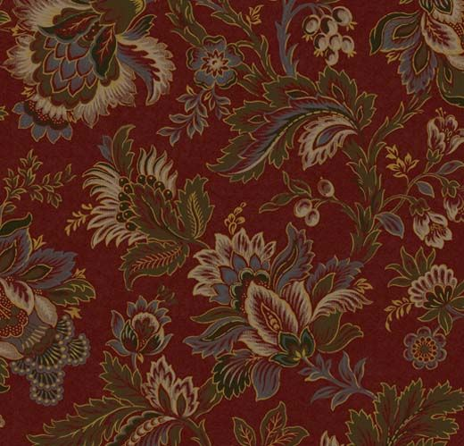 Delphine: These symmetric damasks, and intricate florals.