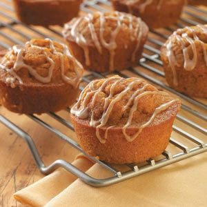 Sweet Potato Muffins - So good! I added a half a cup of water to make the dough a little thinner. They came out great! And they don't really need the icing.