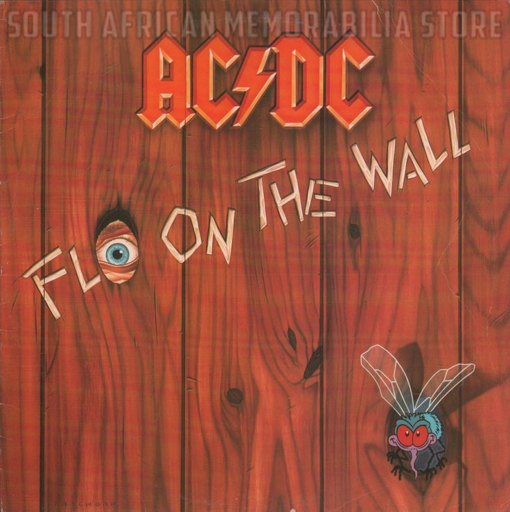 AC/DC ACDC - Fly on the Wall - Rare South African Vinyl Album ATC9842