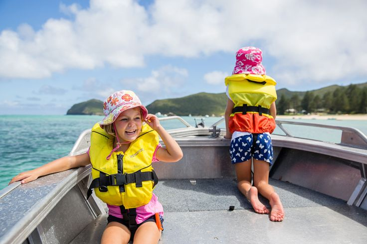 Pixie and Elsie on the Lagoon   Lord Howe Island