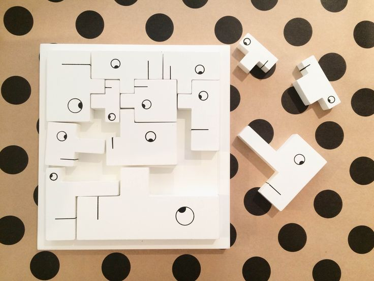 A fantastic tool for your child's mind and cognitive development // Keep them entertained with this funky puzzle // Puzzle Heads