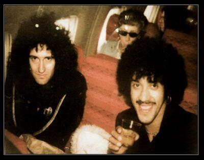 Brian May  & Phil Lynott