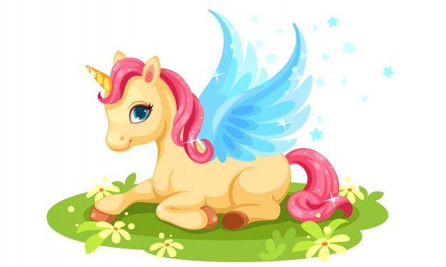 Baixe Personagem De Fantasia De Unicornio Bebe Fofo Gratuitamente