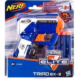 NERF N-Strike Elite Triad szivacslövő pisztoly