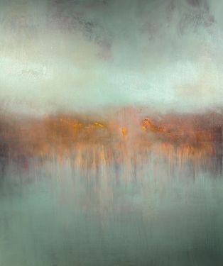 "Saatchi Online Artist Maurice Sapiro; Painting, ""Fog Lifting"" #art"