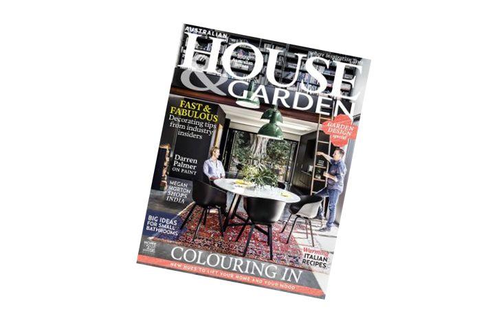 Interior Design Magazines: Australian House & Garden June ...