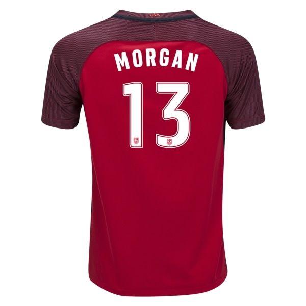 Nike Alex Morgan USA Youth Third Jersey 2017