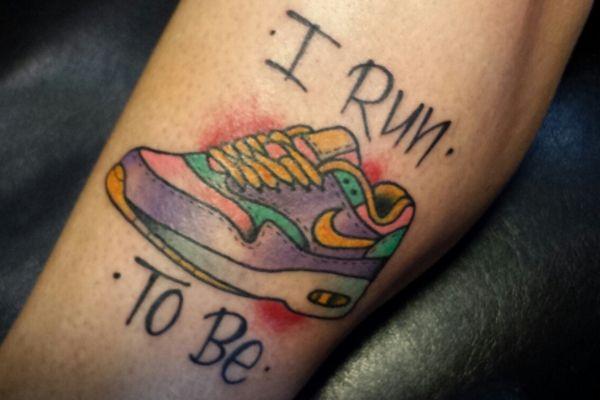 38 Amazing Running Race Tattoos   Runner's World