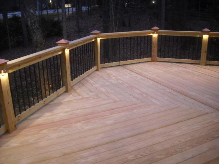 Pattern ideas this deck features a low voltage lighting for Low voltage deck lighting
