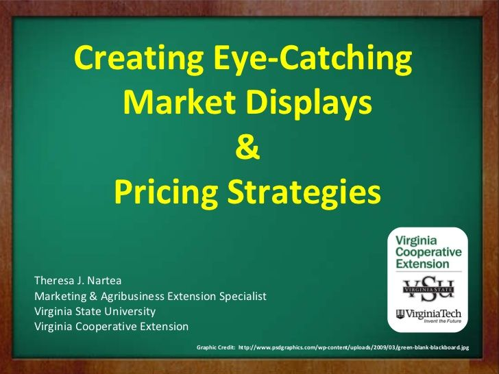 farmers-market-display-and-pricing-8112743 by vsuce via Slideshare