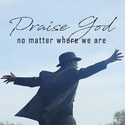 We Praise You Wherever We Are~ Jeremiah 23:23-24 We do not have to travel to a special place or reserve a special time to worship our God. He is alive, active and moving in our midst. As we are out throughout our busy week may we stop to give God the praise & acknowledgement He is due. #PraiseGod #PraiseTheLord #WordOfGod #bible #BlogPost #LivingSacrifice #God #BlessTheLord #scripture #BibleVerse #GodsWord #Jesus #Devotional #UnitedFaithChurchBarnegatNJ