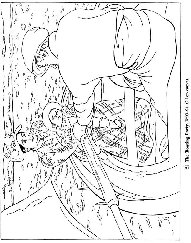 Download Or Print This Amazing Coloring Page Mary Cassatt