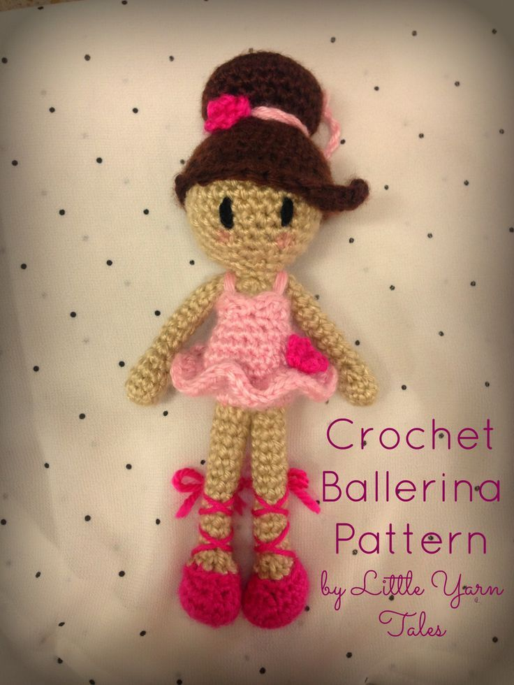 My Little Crochet Doll – Ballerina – Betty Virago | 980x736