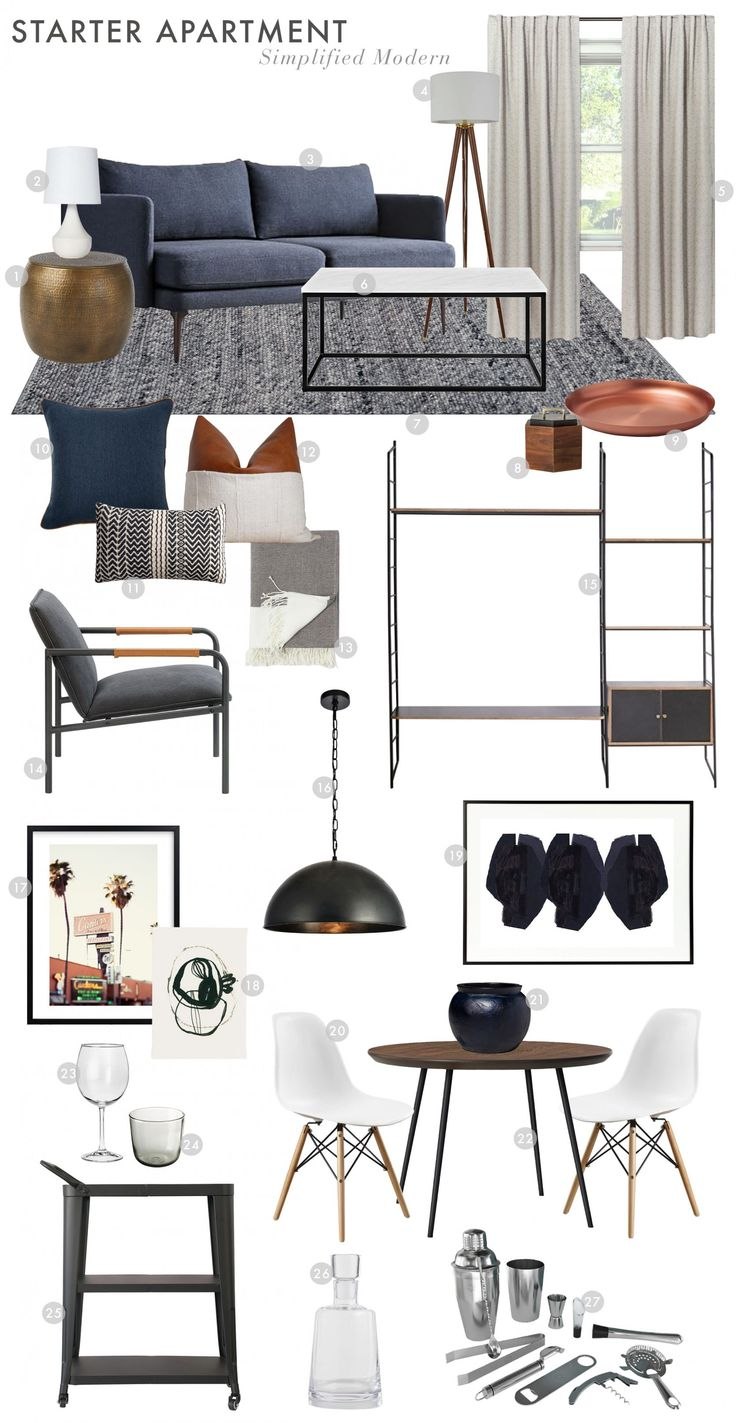 How to Design Your First Apartment On a (Tight) Budget
