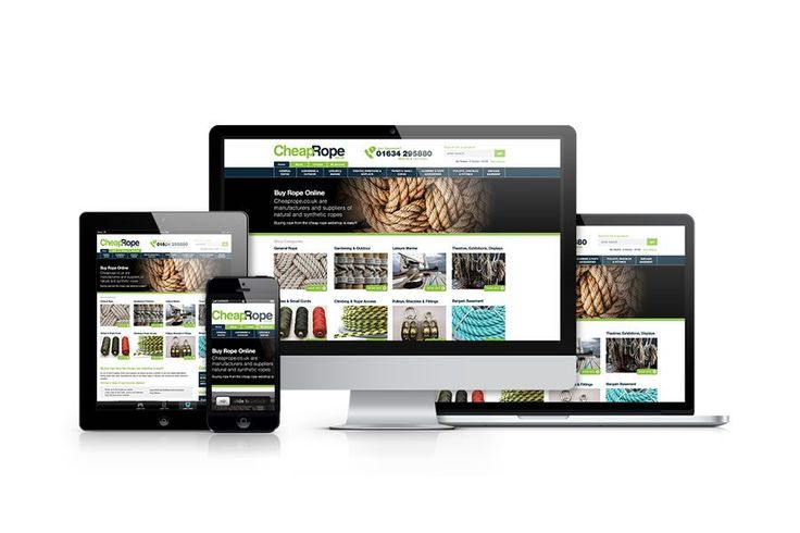 A look at the web design and marketing services provided to Chatham Rope Company by the Smart Domain Group