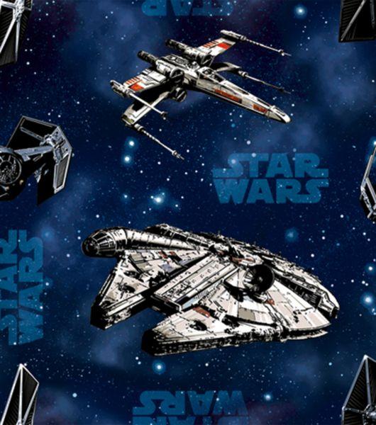 Tela FQ :: Star Wars ships :: de nosgustanlosretros por DaWanda.com