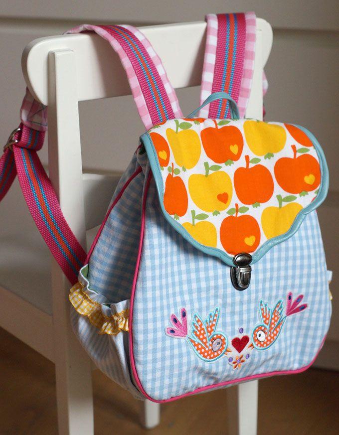 Kinder-Rucksack mit Frühlingsgefühlen