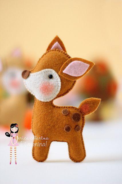 Animais da floresta da Iaiá! by Ei menina! - Érica Catarina, via Flickr