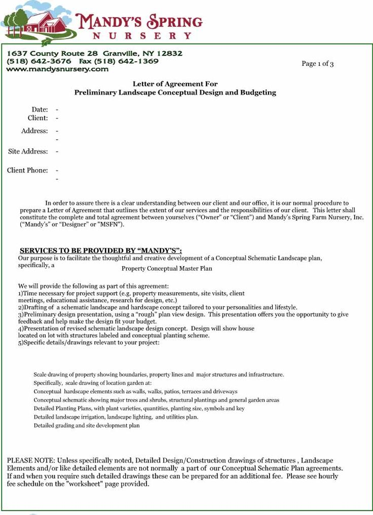 Agreement Letter For House Rent