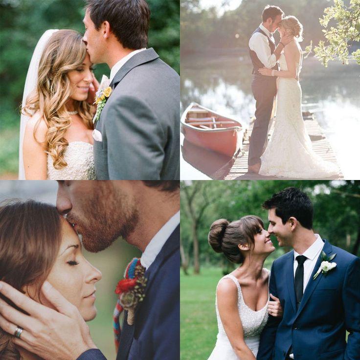 Позы для свадебной фотосессии на природе