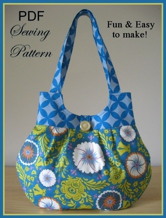 THIS IS AN EBOOK PDF SEWING PATTERN. Instant Download  ♥ Easy to follow Sewing Pattern ♥  Sweet Pea CLASSY CURVY Handbag One simple set of instructions: endless possibilities! This step-by-step list of instructions includes helpful pictures and the required pattern pieces. Have beautiful fabrics youve been wanting to use? You can showcase them in a trendy accessory to go with your favorite outfits! Have fun coordinating the fabrics and making the design suitable for you. You can use the same…